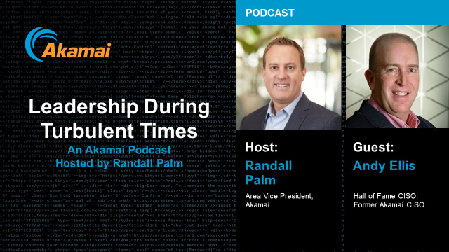 Leadership During Turbulent Times Podcast - Episode 5