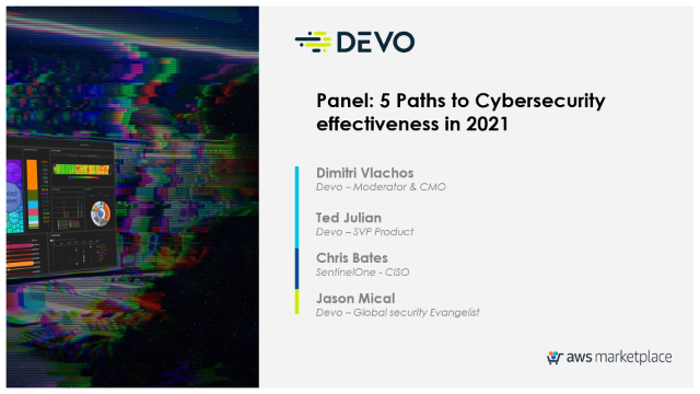Panel discussion: 5 Paths to Cybersecurity Effectiveness in 2021