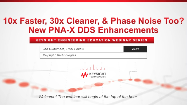 10x Faster, 30x Cleaner, and Phase Noise Too? New Network Analyzer