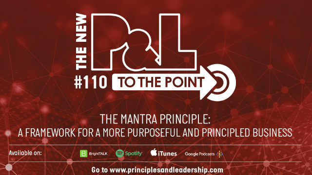 The New P&L TO THE POINT on The MANTRA Principle