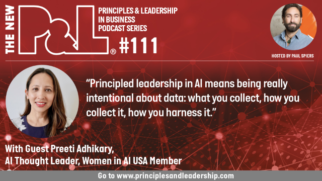 The New P&L speaks to Preeti Adhikary, AI Thought Leader, Women In AI USA