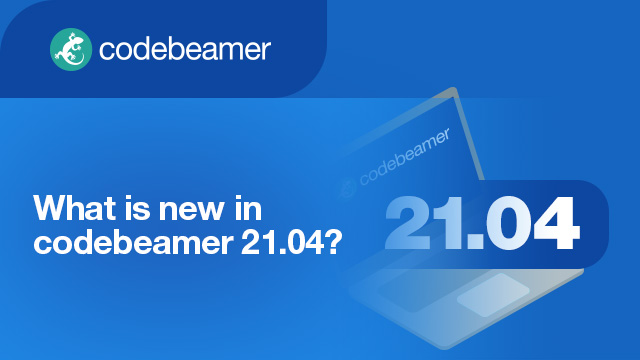 What is new in codebeamer 21.04?