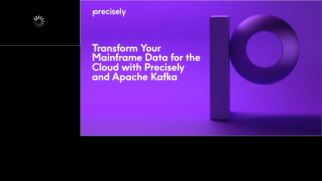 Transform Your Mainframe Data for the Cloud with Precisely and Apache Kafka
