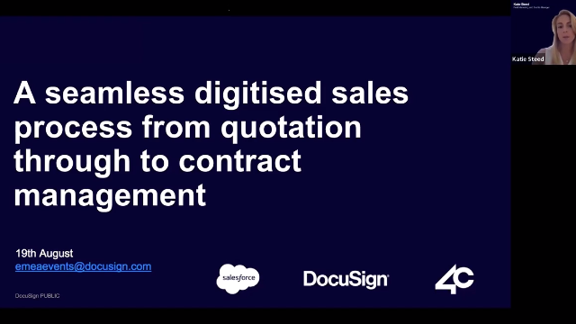 Salesforce CPQ and DocuSign CLM: A seamless digitised sales process