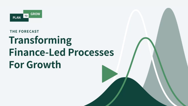 Transforming Finance-Led Processes for Growth