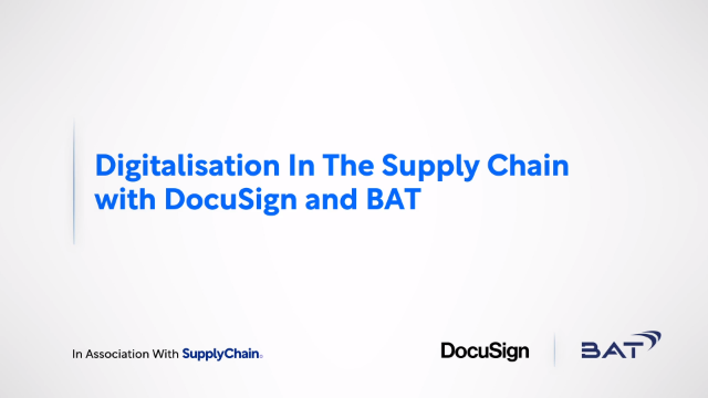 Digitalisation in Supply Chain with BizClik and British American Tobacco