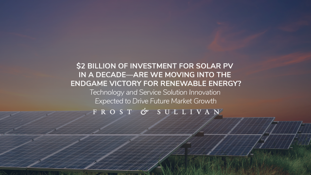 Are We Moving into the Endgame Victory for Renewable Energy?