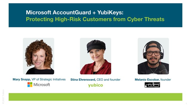 Fireside Chat: Protecting High-Risk Individuals from Cyber Threats