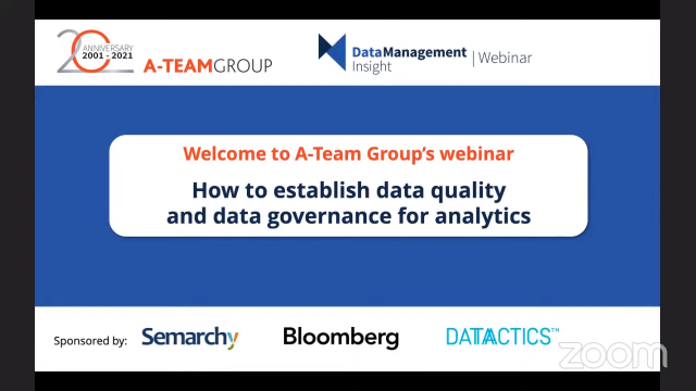 Financial Services: How to establish data quality & governance for analytics