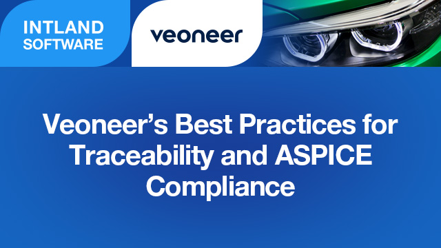 Veoneer's Best Practices for Traceability and ASPICE Compliance
