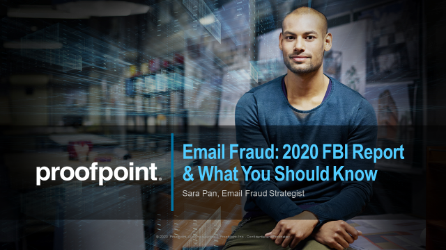 Email Fraud - 2020 FBI Report & What You Should Know