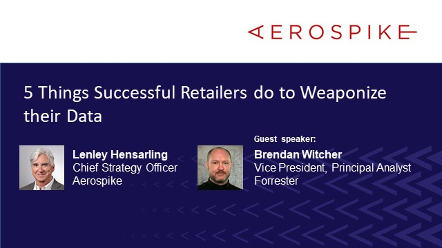 5 Things Successful Retailers do to Weaponize their Data