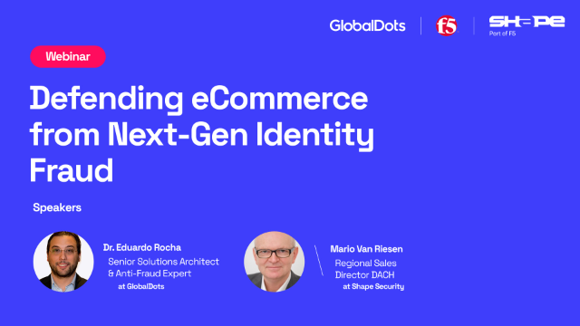 Defending eCommerce from Next-Gen Identity Fraud
