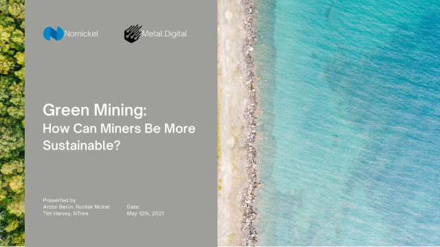 Green Mining – How can Miners be More Sustainable?