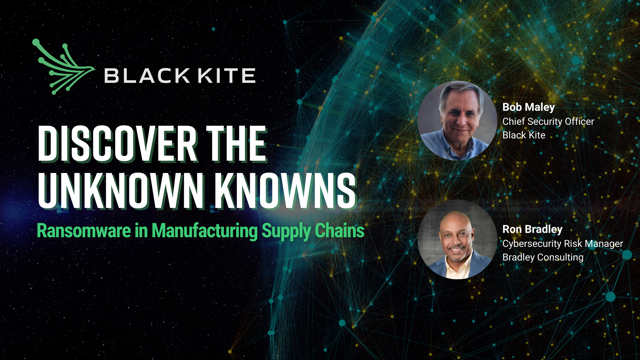 Discover the Unknown Knowns: Ransomware in Manufacturing Supply Chains
