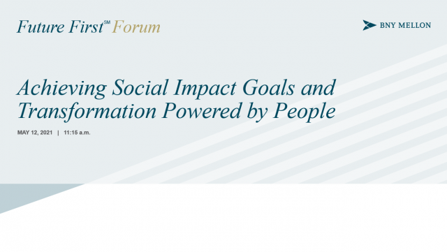 Achieving Social Impact Goals and Transformation Powered by People