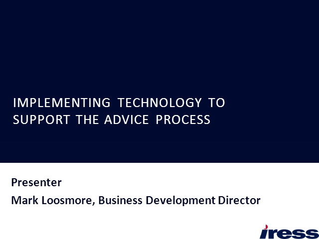 Implementing Technology To Support The Advice Process