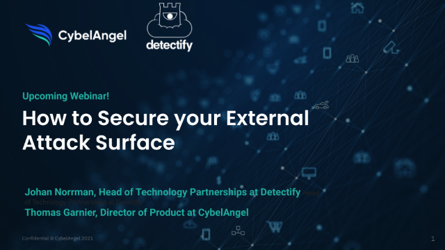 Secure your External Attack Surface: Transitioning to a Proactive Mindset