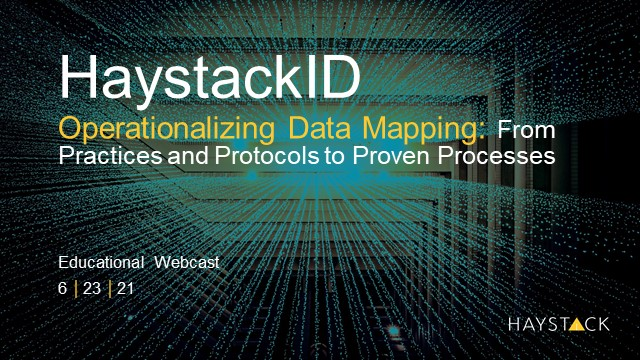 Operationalizing Data Mapping: From Practices and Protocols to Proven Processes