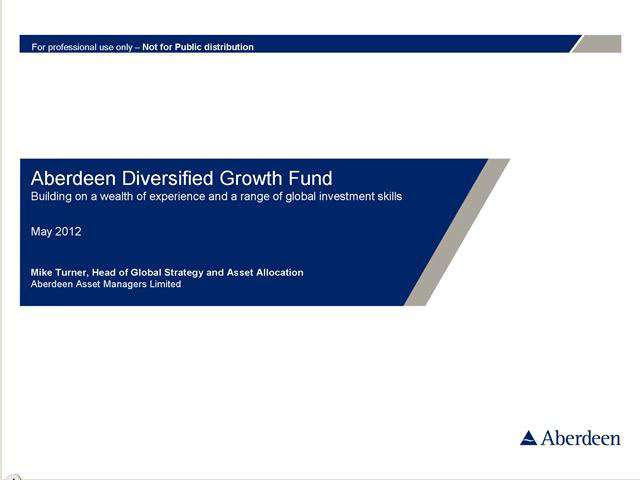 Aberdeen Diversified Growth Fund