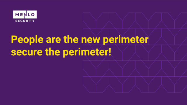 People are the new perimeter - secure the perimeter!