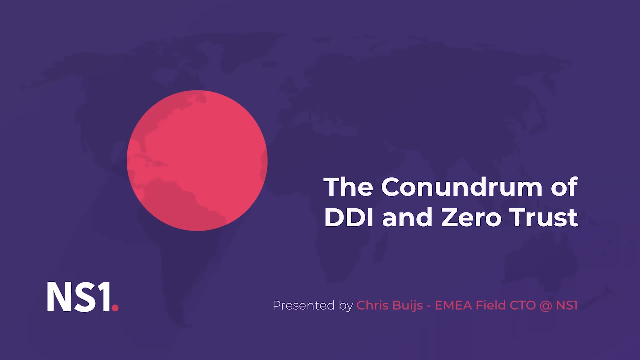 The Conundrum of DDI and Zero Trust