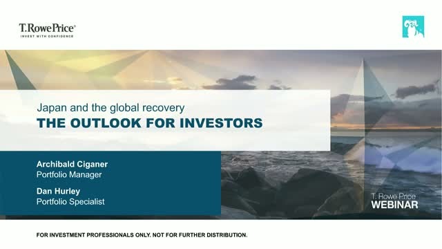 Japan and the global recovery – the outlook for investors