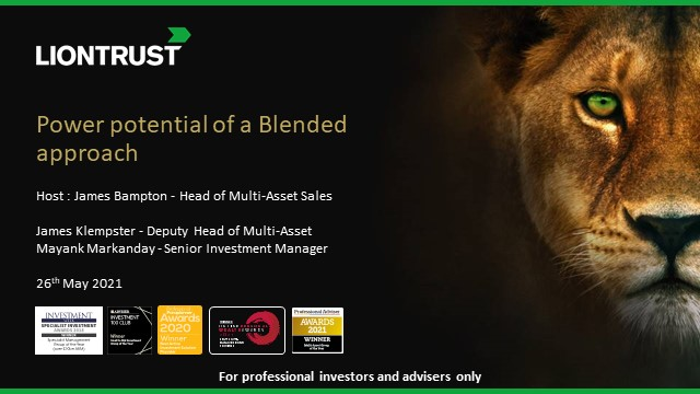 The power of a Blended approach (UK ONLY)