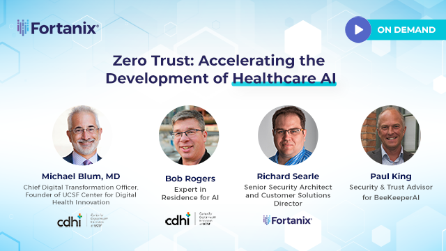 Zero Trust: Accelerating the Development of Healthcare AI