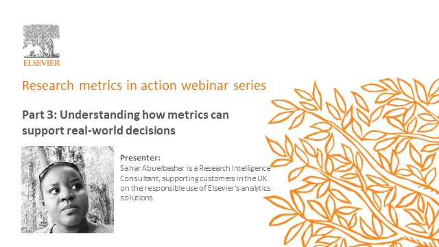 Part 3: Understanding how metrics can support real-world decisions