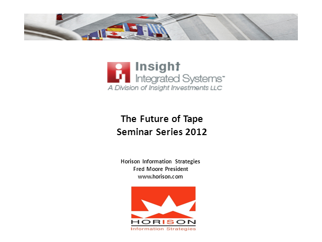 The Future of Tape