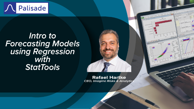 Intro to Forecasting Models using Regression with StatTools