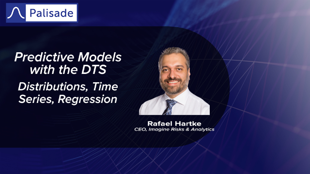 Predictive Models with the DTS - Distributions, Time Series, Regression