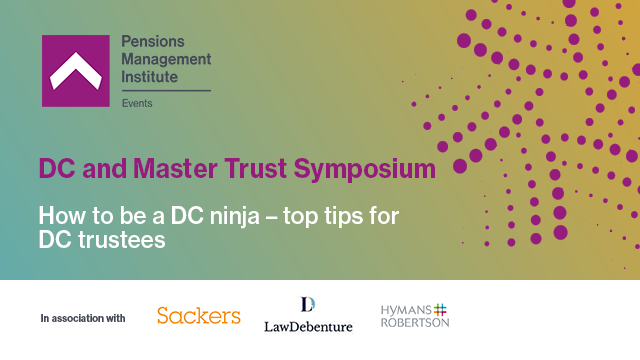 How to be a DC ninja – top tips for DC trustees