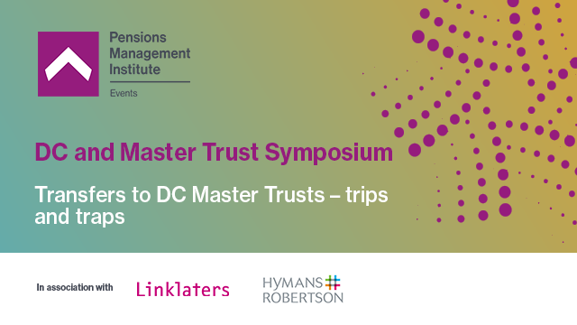 Transfers to DC Master Trusts – trips and traps