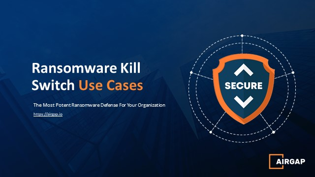 Ransomware Can Be Stopped - Got Ransomware Kill Switch?