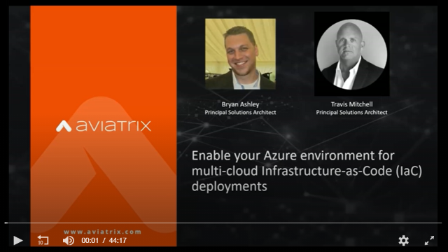 Enable your Azure environment for multi-cloud Infrastructure-as-Code deployments