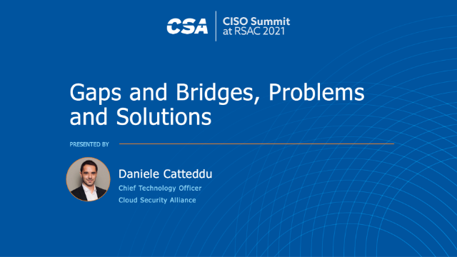 Gaps and Bridges, Problems and Solutions
