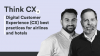 Digital Customer Experience (CX) best practices for airlines and hotels