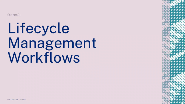Lifecycle Management for Workflows