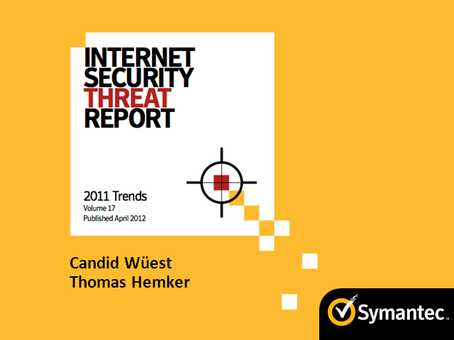 Internet Security Threat Report and Flamer Update by Symantec in German