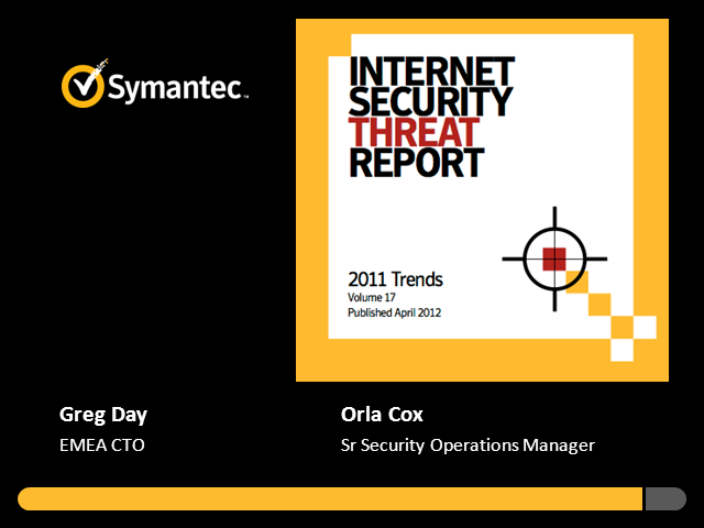 Internet Security Threat Report by Symantec in English