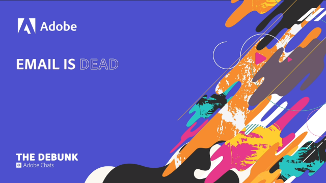 Marketing Myth: Email is Dead