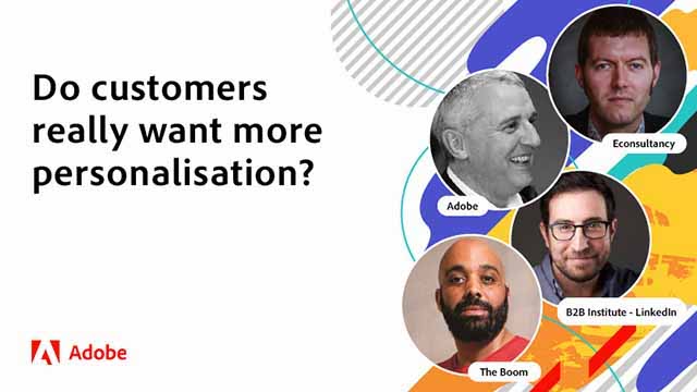 Myth: Customers always want more personalisation