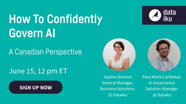 How to Confidently Govern AI - A Canadian Perspective