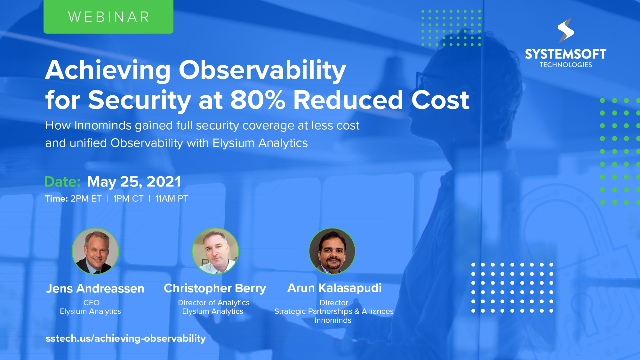 Achieving Observability for Security at 80% Reduced Cost