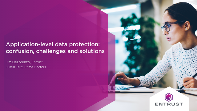 Application-level data protection: confusion, challenges and solutions
