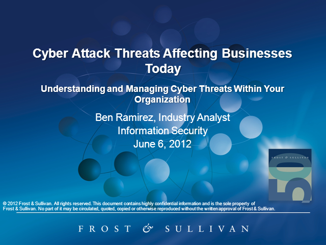 Cyber Attack Threats Affecting Businesses Today