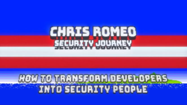How to Transform Developers into Security People