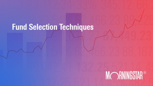 Fund Selection Techniques